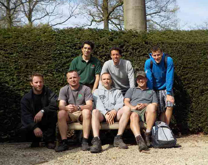 The garden team at Wespelaar Arboretum and Herkenrode Gardens