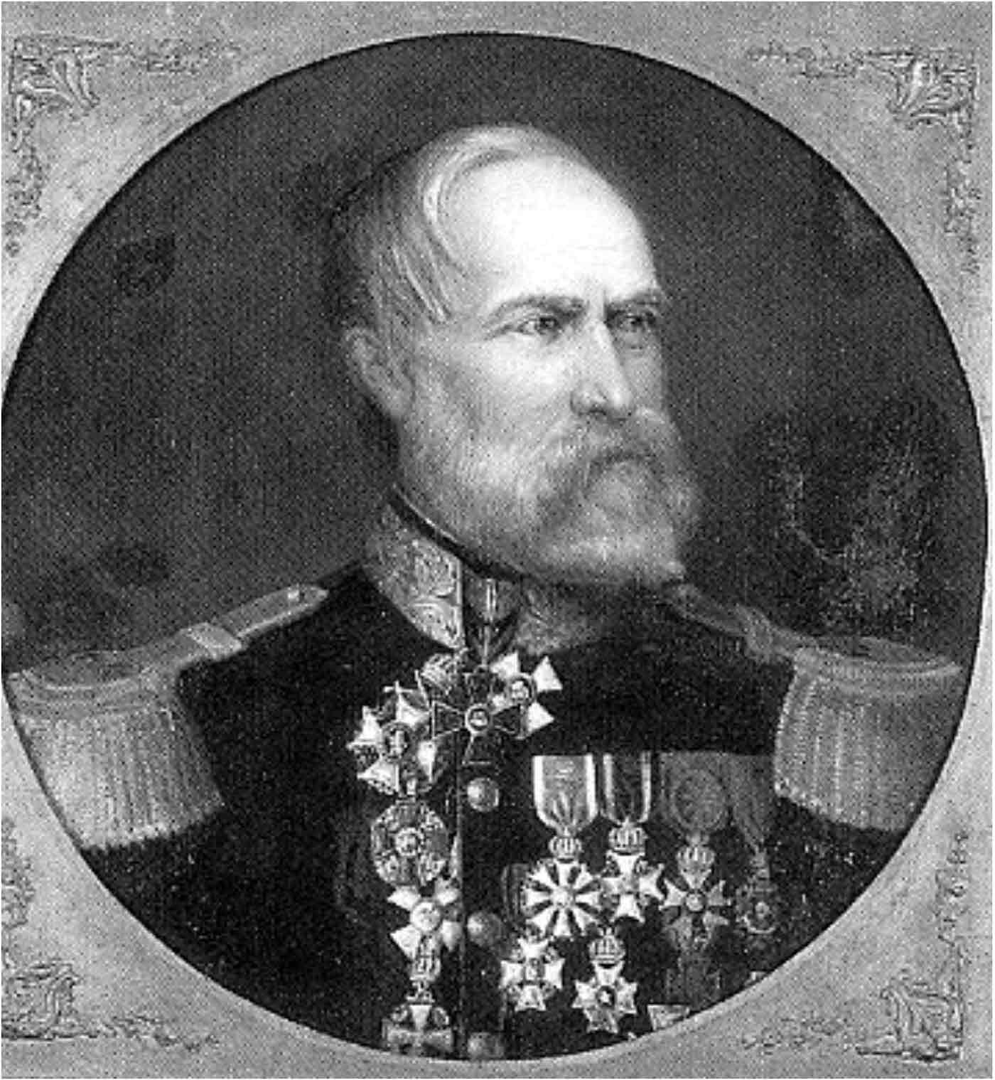 Ritratto di Siebold datato 1875.