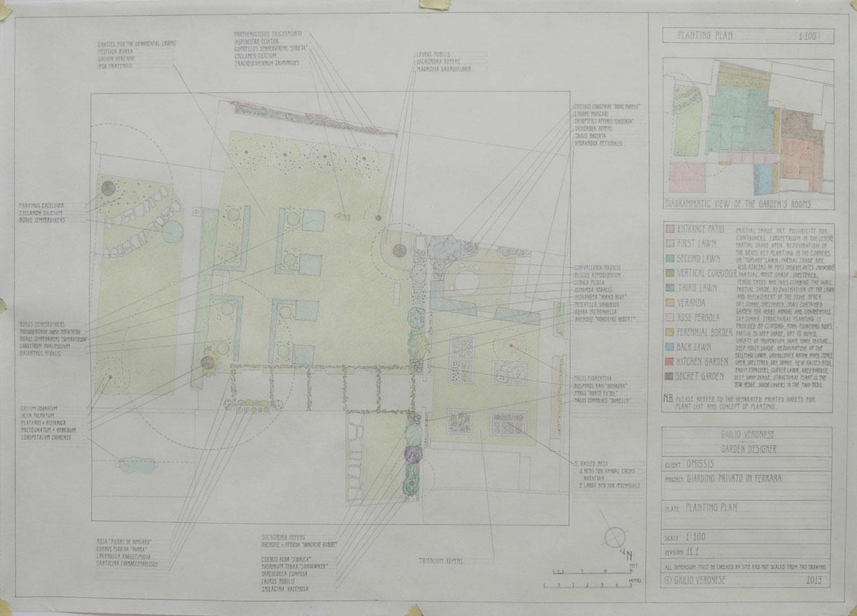 Plate 11 - Planting plan
