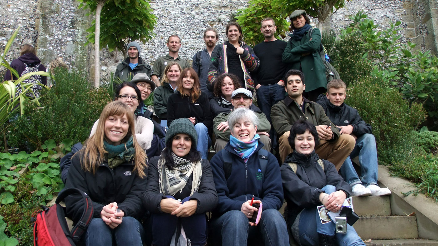 The PGG trainees during a visit at Arendel Castle, West Sussex