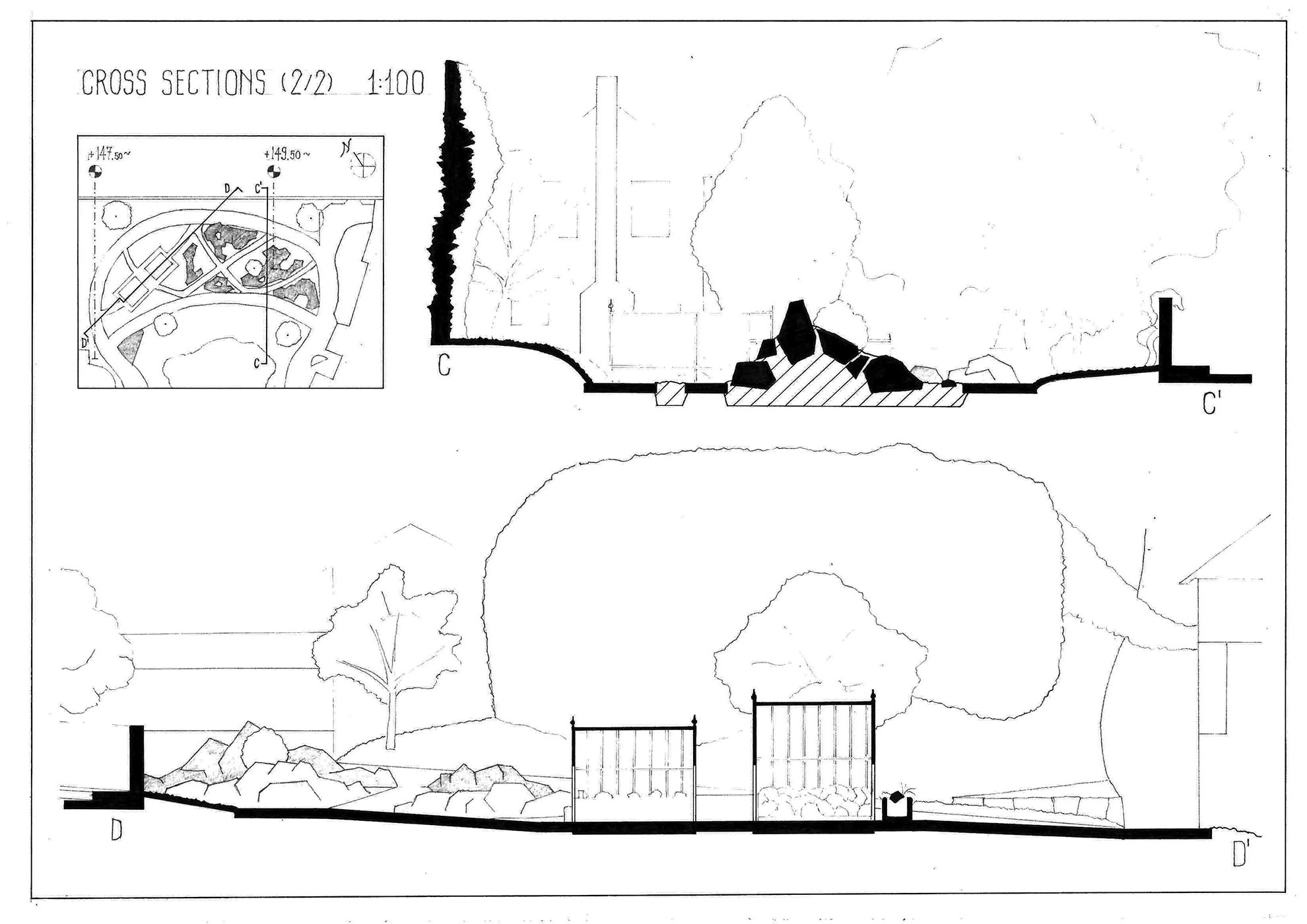 Cross sections (2/2).